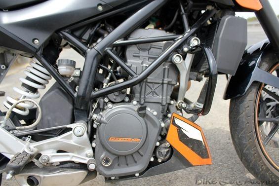 KTM Duke Engine