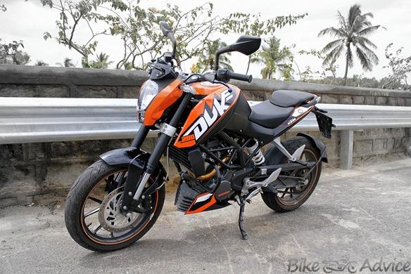 KTM Duke India