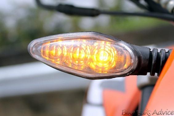 KTM Duke indicators