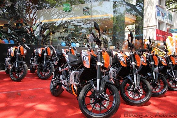 KTM Dukes India