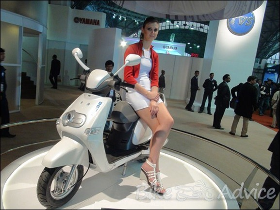TVS new scooter 2012