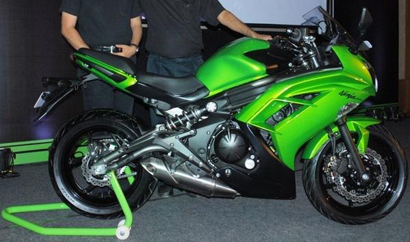 Ninja 650R bikeadvice