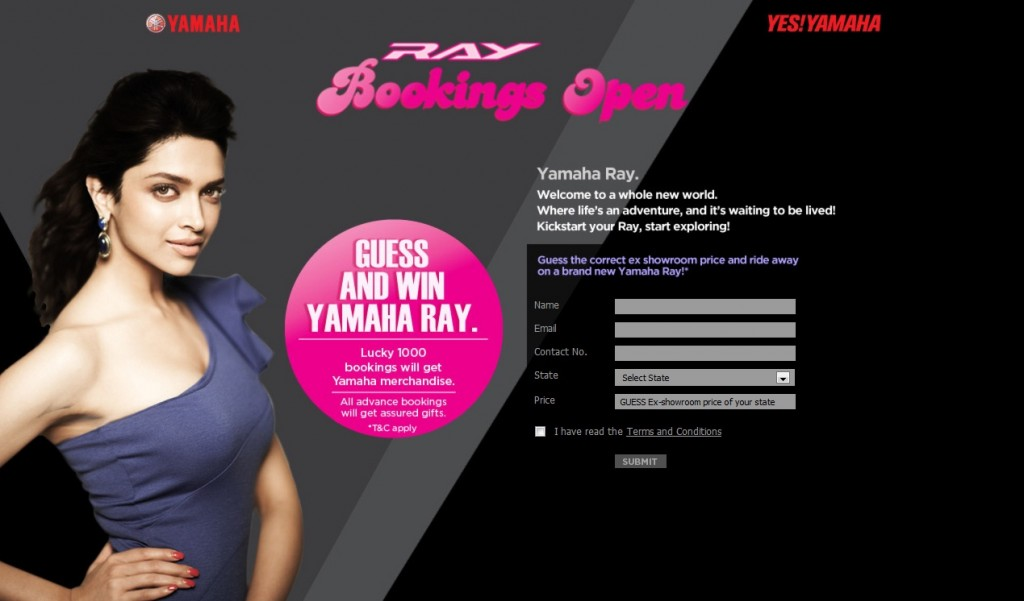 Yamaha Opens Bookings Of Ray 125 Scooter
