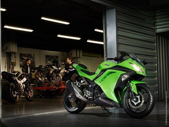 Get Ready For 2013 Kawasaki Ninja 300 Upcoming Bikes