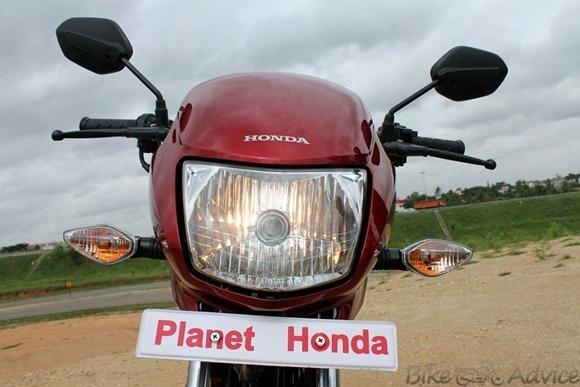 Honda Yuga front face