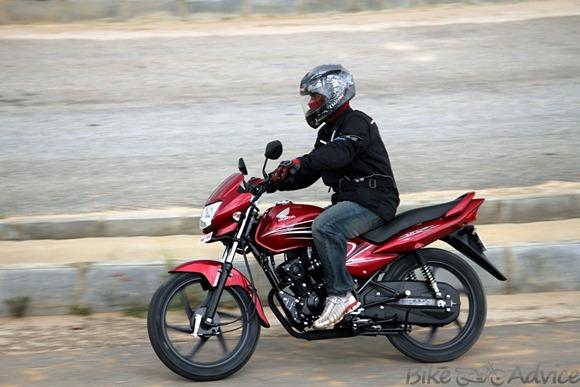 Honda Yuga test drive Bikeadvice
