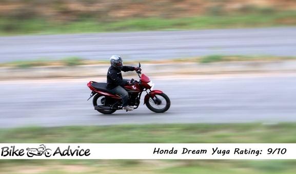 Honda dream yuga ratings