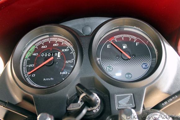 Yuga speedometer