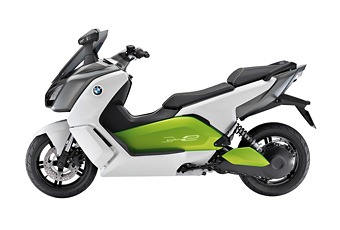 Electric Scooter on Bmw C Evolution E Scooter  Electric Scooters 2012