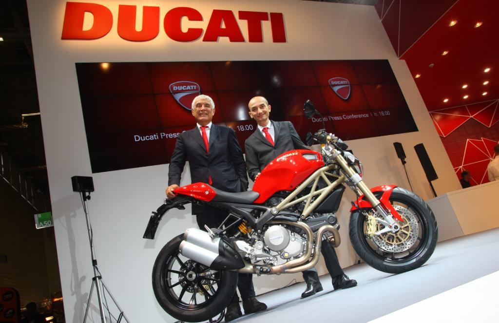 Intermot 2012 Ducati Unveils Its 2013 Motorcycle Line Up