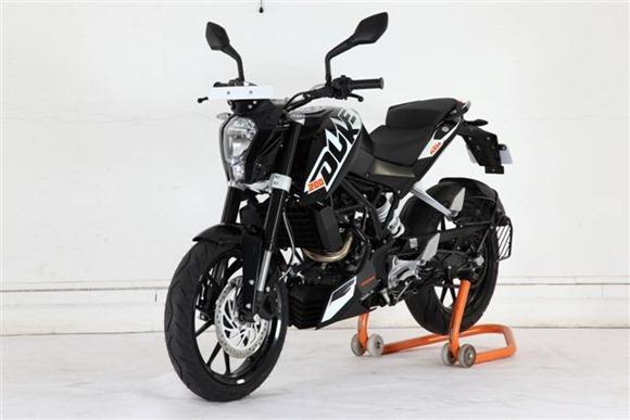 KTM Duke Black model 2012