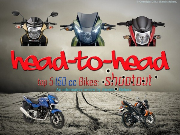 head to head 150cc