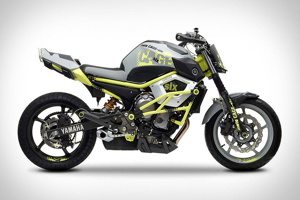 Yamaha Introduces Cage-Six Concept Motorcycle for Stunt