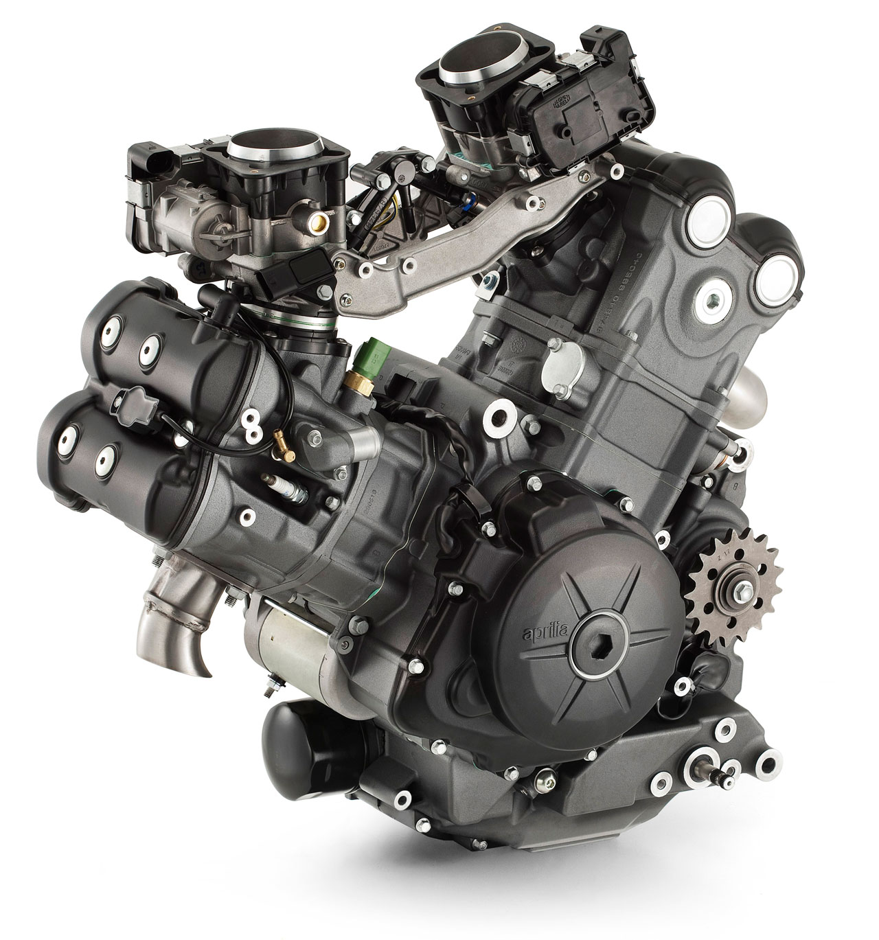 Yamaha 4 Cylinder Motorcycle Engine: 2013 Aprilia Dorsoduro 1200 Engine