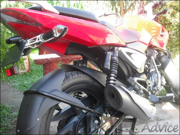 Bajaj Pulsar 135LS Ownership Review by Jonard Sonza bikeadvice in (2)