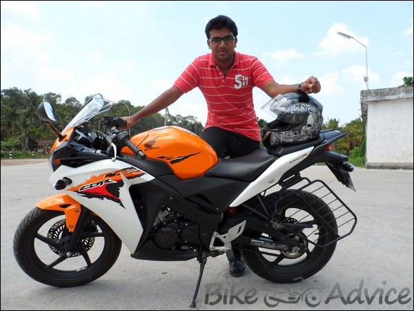 Honda CBR 150R Ownership Review by Vishal bikeadvice in (1)