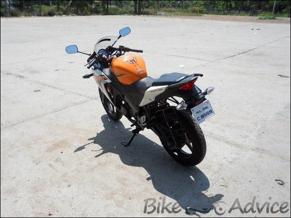 Honda CBR 150R Ownership Review by Vishal bikeadvice in (10)