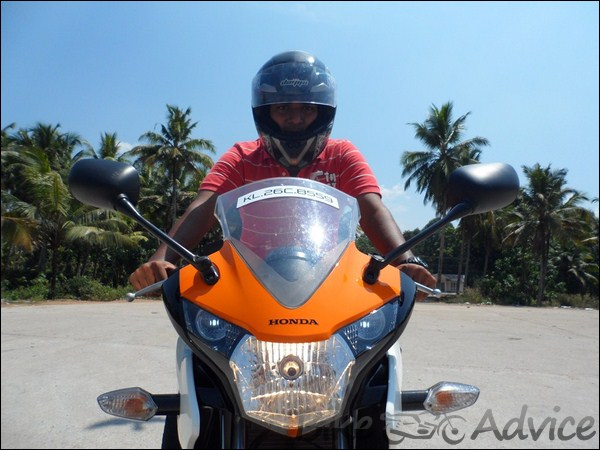 Honda CBR 150R Ownership Review by Vishal bikeadvice in (12)