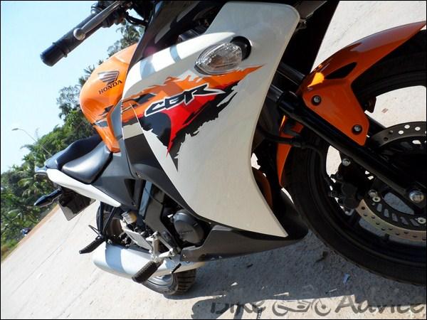 Honda CBR 150R Ownership Review by Vishal bikeadvice in (13)