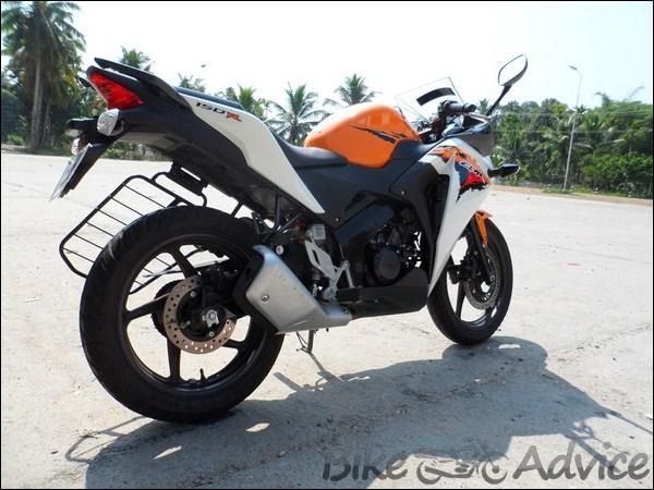 Honda CBR 150R Ownership Review by Vishal bikeadvice in (8)