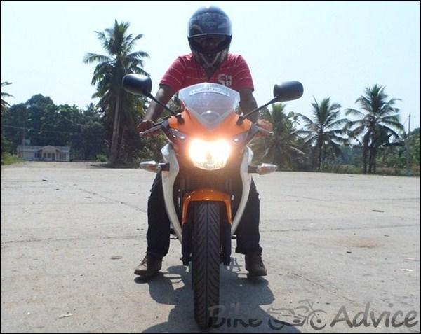 Honda CBR 150R Ownership Review by Vishal bikeadvice in (9)