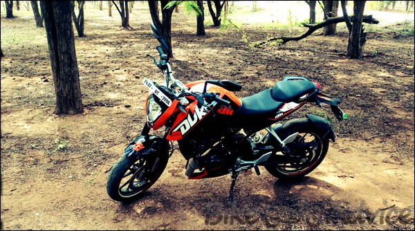KTM Duke 200 Ownership Review by Aditya bikeadvice in (7)