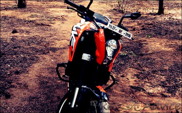 KTM Duke 200 Ownership Review by Aditya bikeadvice in (8)