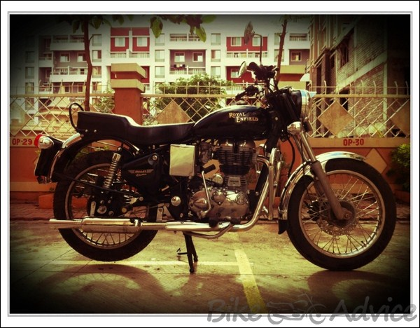 Royal Enfield 350cc Ownership Review by Rohit Amonkar bikeadvice in (4)