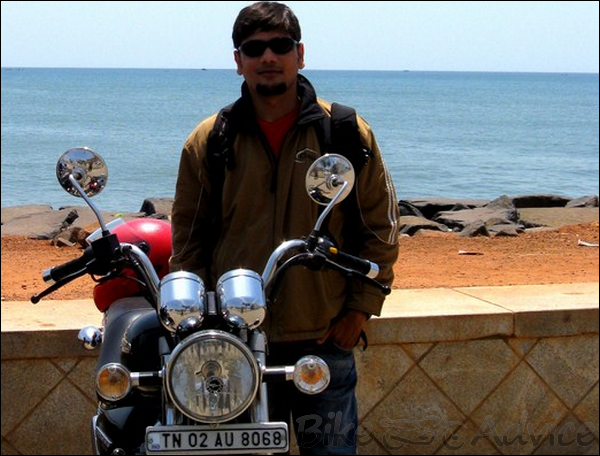 Royal Enfield ThunderBird Twinspark 350cc Ownership Review by Sai Viswanath bikeadvice in (2)