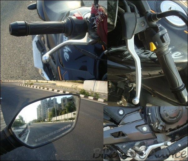 TVS Apache RTR160 Hyperedge Ownership Review by Vaibhav Chauhan bikeadvice in (9)