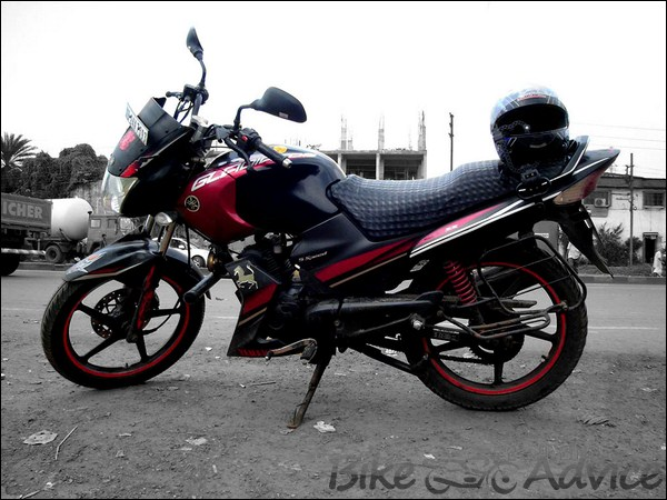 Yamaha Gladiator SS Ownership Review by Rakesh Manna bikeadvice in (2)