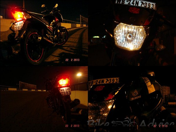 Yamaha Gladiator SS Ownership Review by Rakesh Manna bikeadvice in (3)