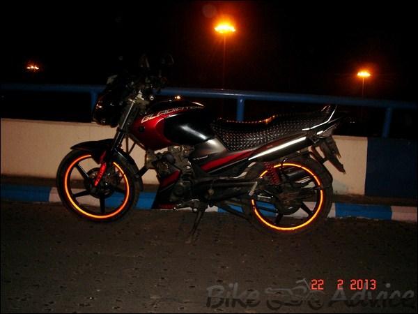 Yamaha Gladiator SS Ownership Review by Rakesh Manna bikeadvice in (7)