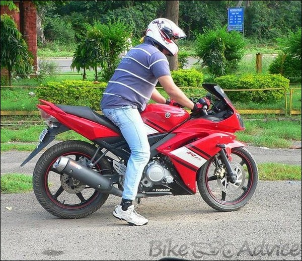 Yamaha R15 V 1.0 Ownership Review by Rhythm Rana bikeadvice in (16)