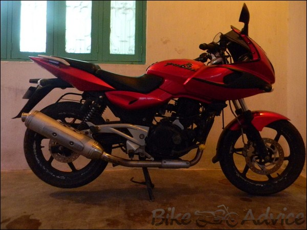 Bajaj Pulsar 150 DTS-I Ownership Review by Partha Sarathy bikeadvice in (10)