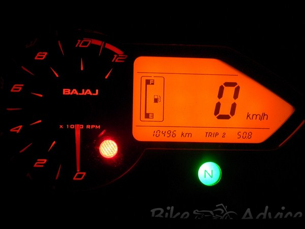 Bajaj Pulsar 150 DTS-I Ownership Review by Partha Sarathy bikeadvice in (9)