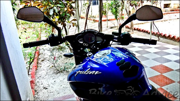 Bajaj Pulsar 200NS Ownership Review by Anand bikeadvice in (6)