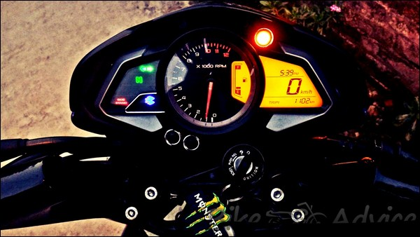 Bajaj Pulsar 200NS Ownership Review by Anand bikeadvice in (8)