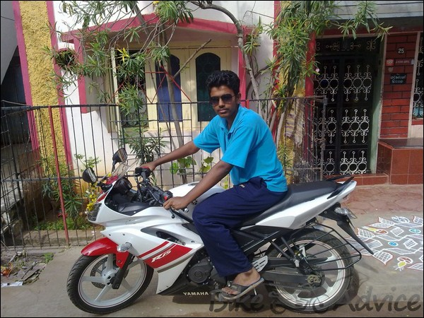 Hero Honda CBZ Xtreme Ownership Review by Gowtham bikeadvice in (7)