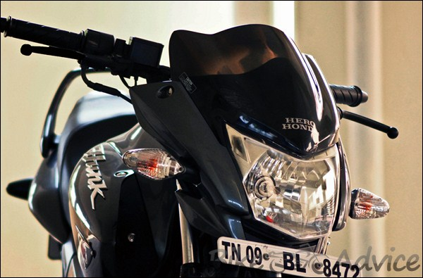 Hero Honda Hunk Ownership Review by Dinesh bikeadvice in (2)