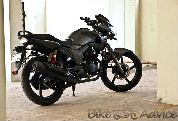 Hero Honda Hunk Ownership Review by Dinesh bikeadvice in (4)