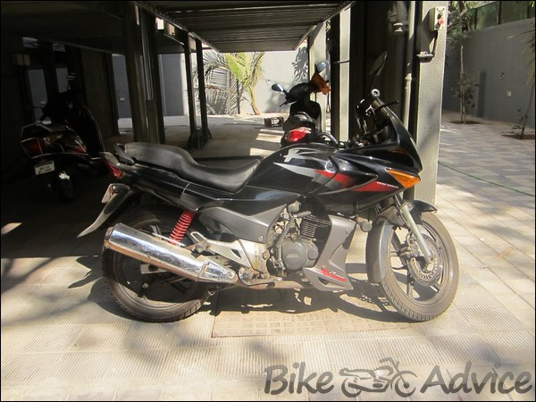 Hero Honda Karizma Ownership Review by Satyam bikeadvice in (5)