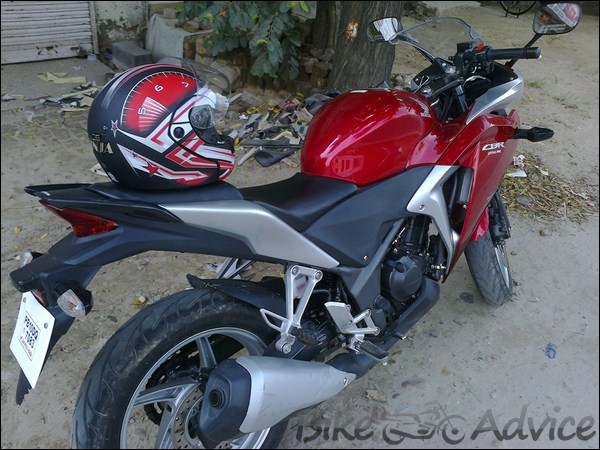 Honda CBR 250R Ownership review by Adarsh Jose bikeadvice in (24)