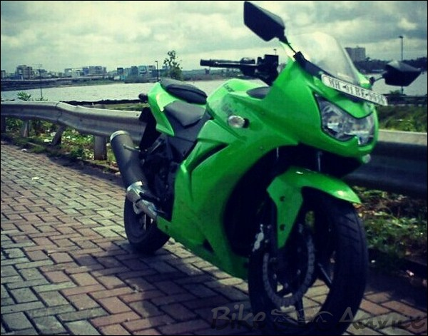 Kawasaki Ninja 250R Ownership Review by Kamal Jaisingh bikeadvice in (6)
