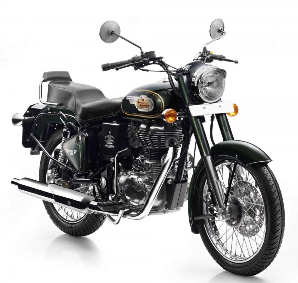 Royal Enfield Bullet 500 in Forest Green colour-Front