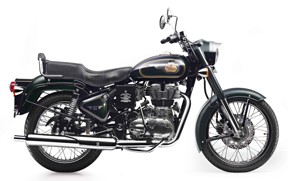 royal enfield launches bullet 500 at rs lakh on road. Black Bedroom Furniture Sets. Home Design Ideas