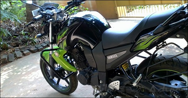 Yamaha fz s 10 200kms ownership review by ashwin a 63kmpl fz for Yamaha fz back tyre price
