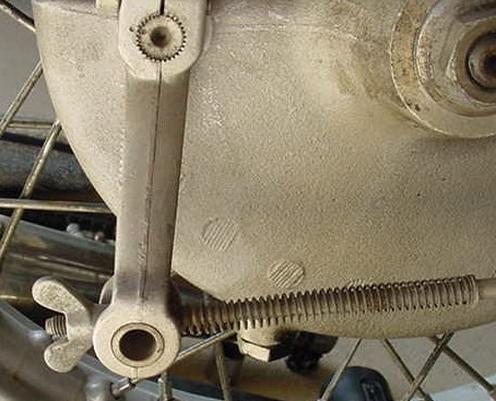 Rear brake Drum Bikeadvice.in