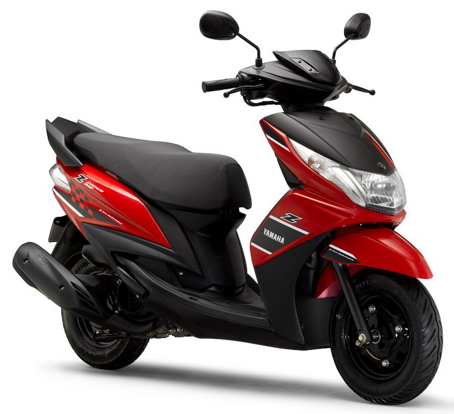 yamaha launches new ray z rs 48 555 new variants sz rr. Black Bedroom Furniture Sets. Home Design Ideas