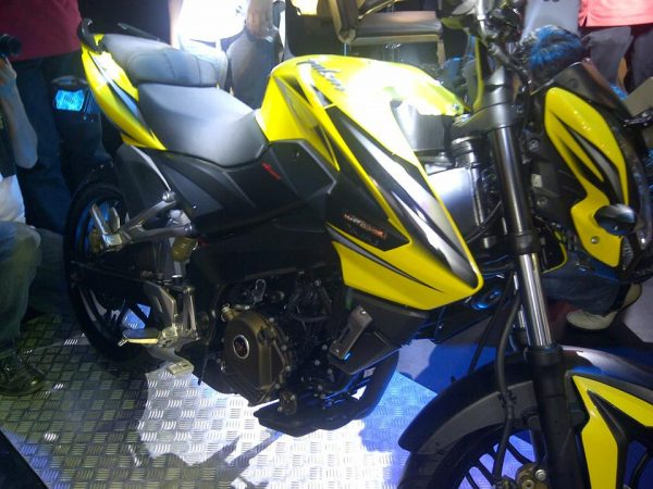 Pulsar ns 200 yellow colour dress